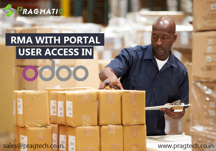 RMA with portal user access in Odoo