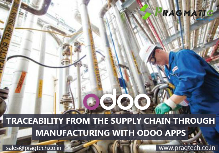 Traceability from the Supply Chain through Manufacturing with Odoo Apps