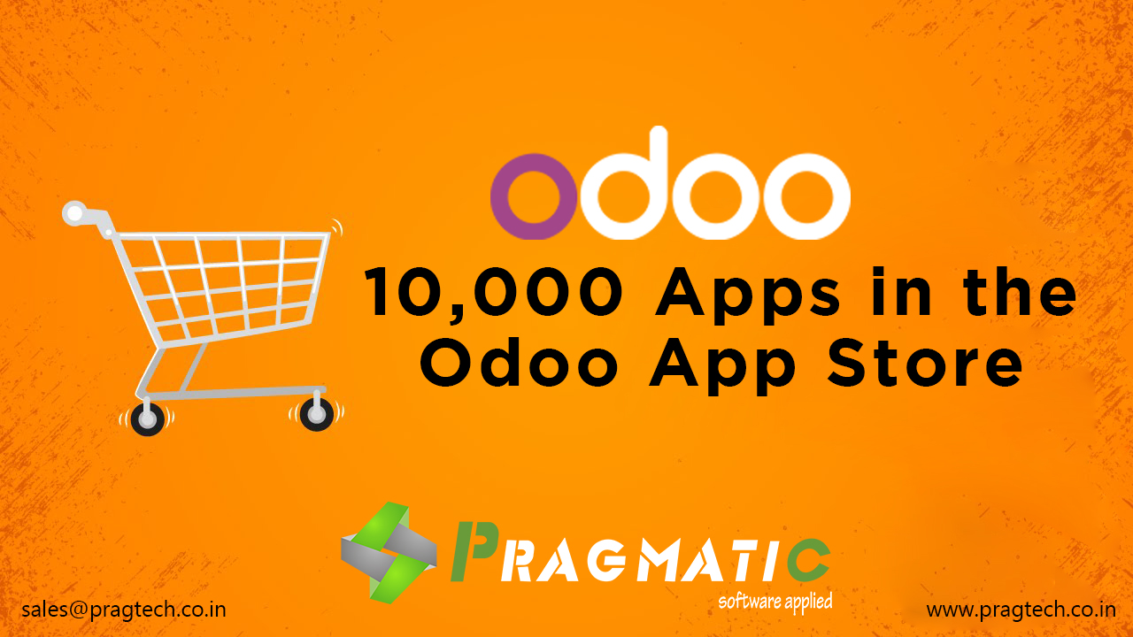 10,000 Apps in the Odoo App Store