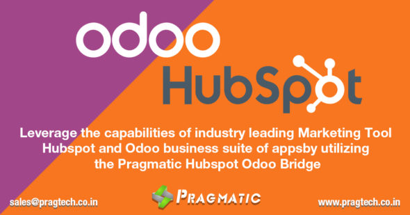Leverage the capabilities of industry leading Marketing Tool Hubspot and Odoo business suite of apps by utilizing the Pragmatic Hubspot Odoo Bridge