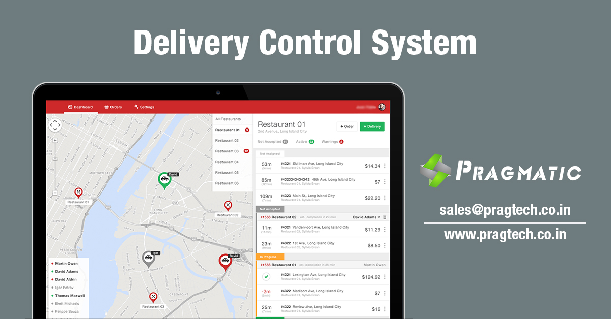 Delivery Control System
