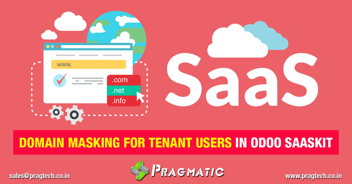 Domain Masking for Tenant Users in Odoo SaaSkit