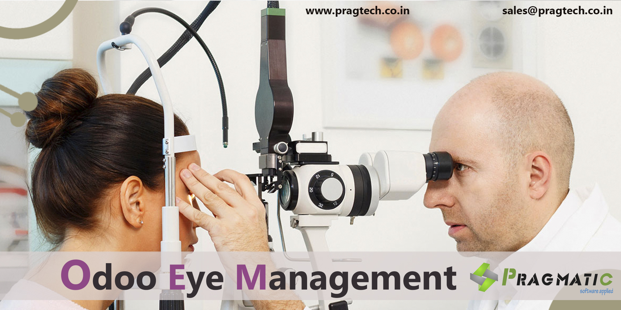 Odoo Eye Clinic Management App