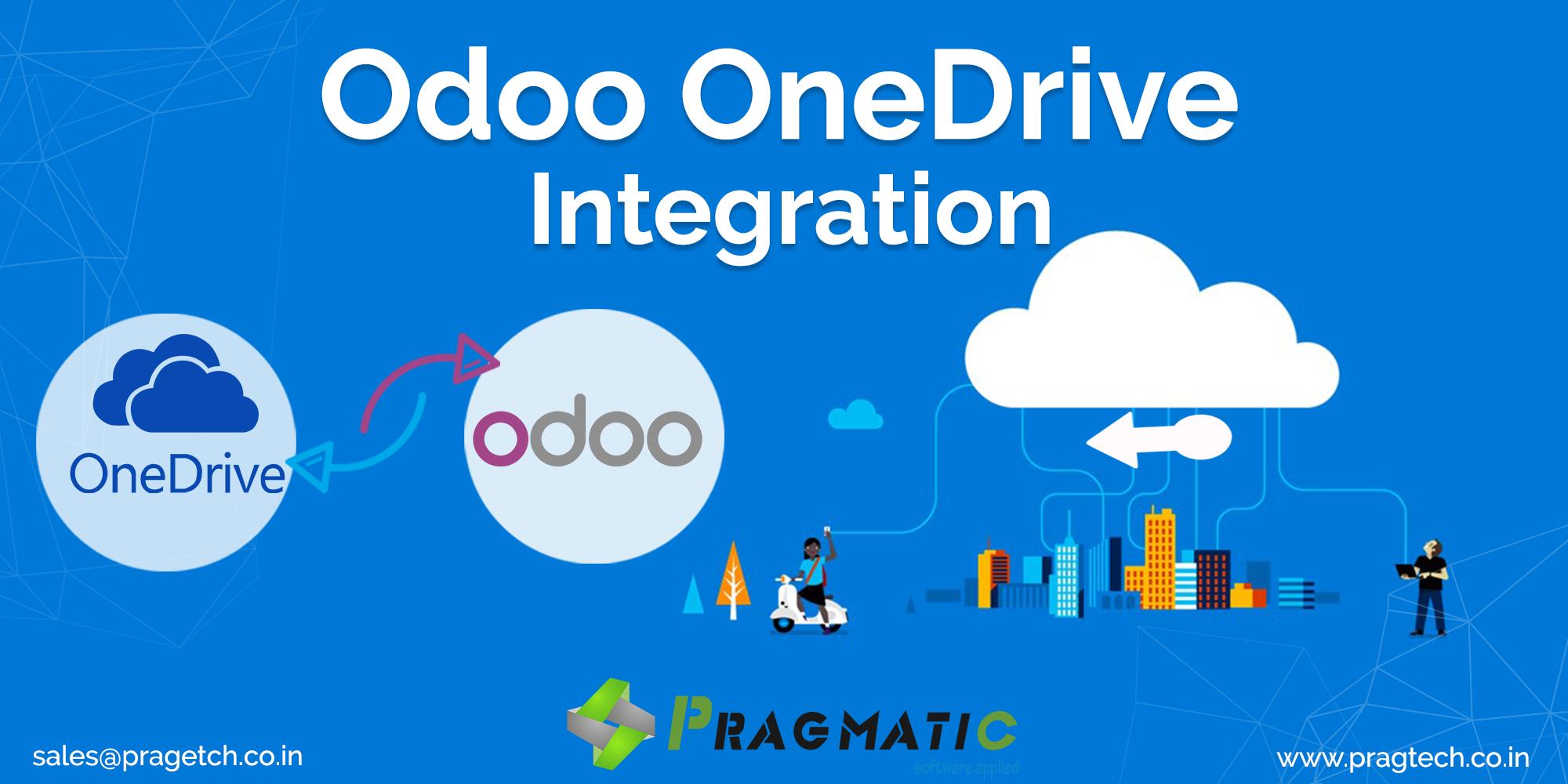 Odoo OneDrive Integration App