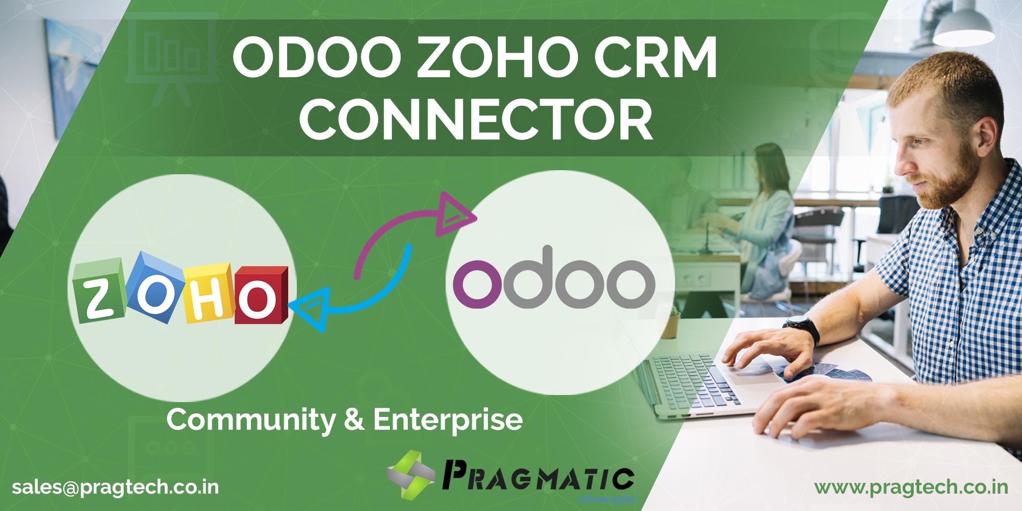 Pragmatic Odoo Zoho CRM Connector