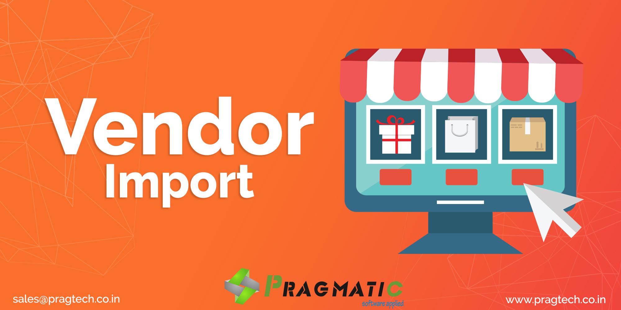 Vendor Import