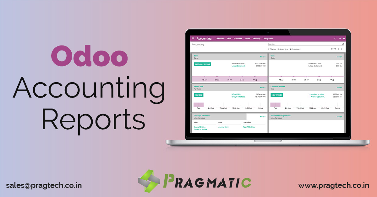 Odoo Accounting Reports