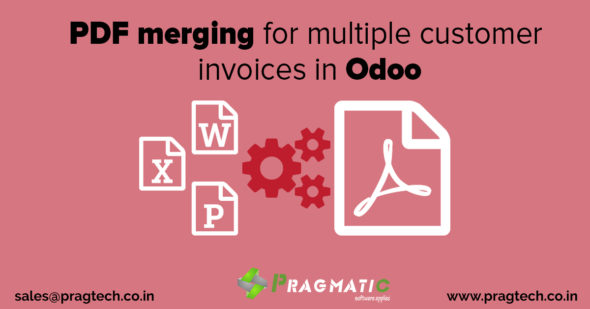PDF merging for multiple customer invoices in Odoo