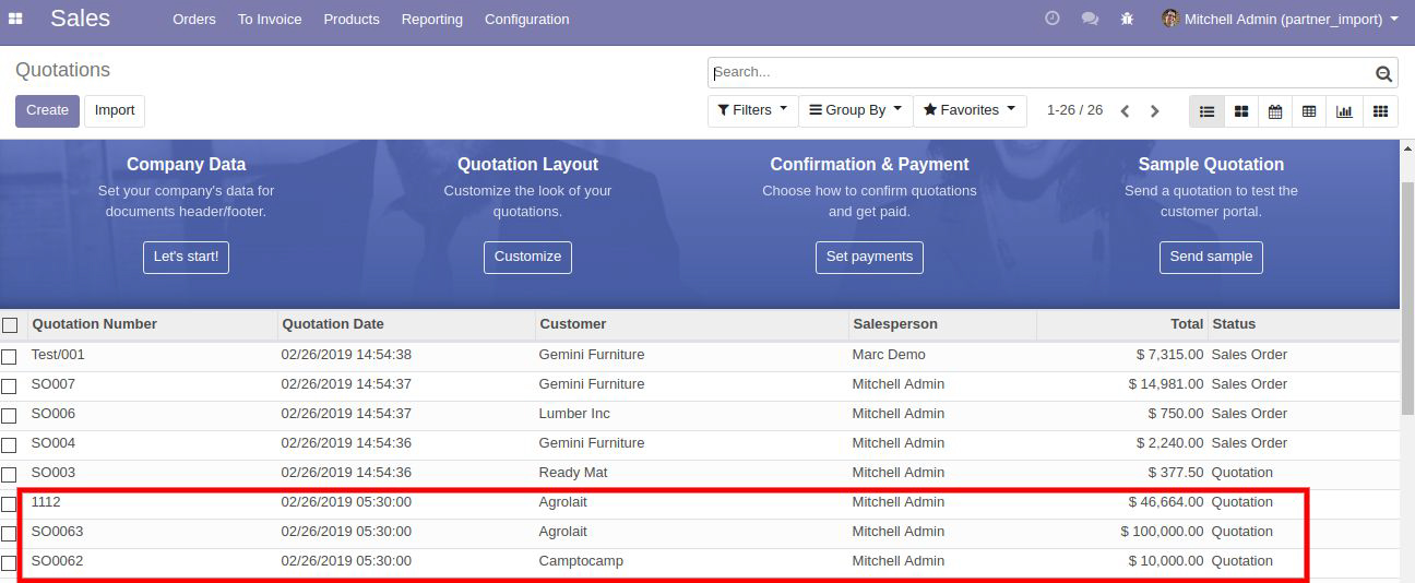 Odoo All Data Import Excel/CSV - Pragtech Blogger
