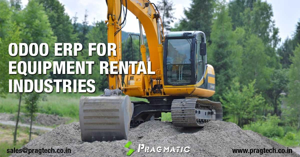 Odoo ERP for Equipment Rental Industries