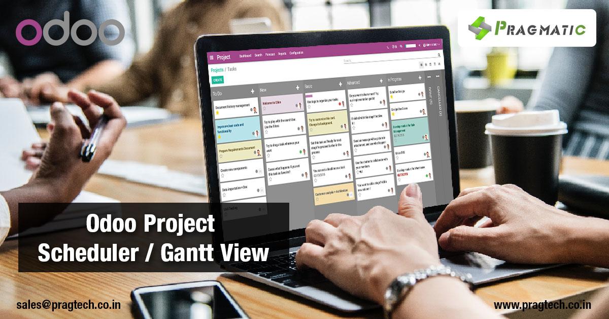 Odoo Project Scheduler / Gantt View