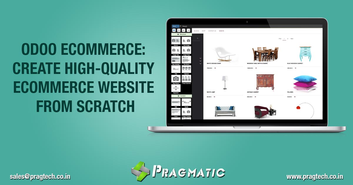 Odoo eCommerce: Create High-quality eCommerce Website from Scratch