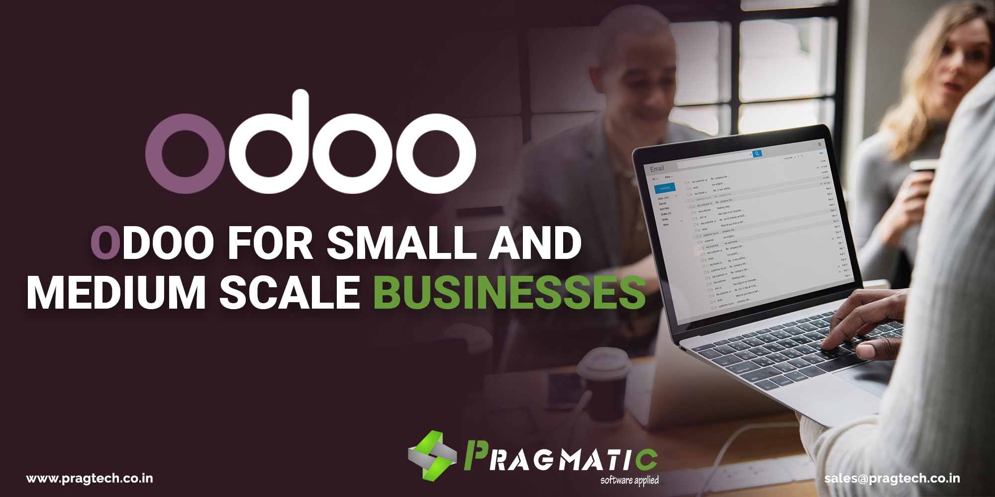 Odoo for Small and Medium Scale Businesses - Case Studies - Pragtech