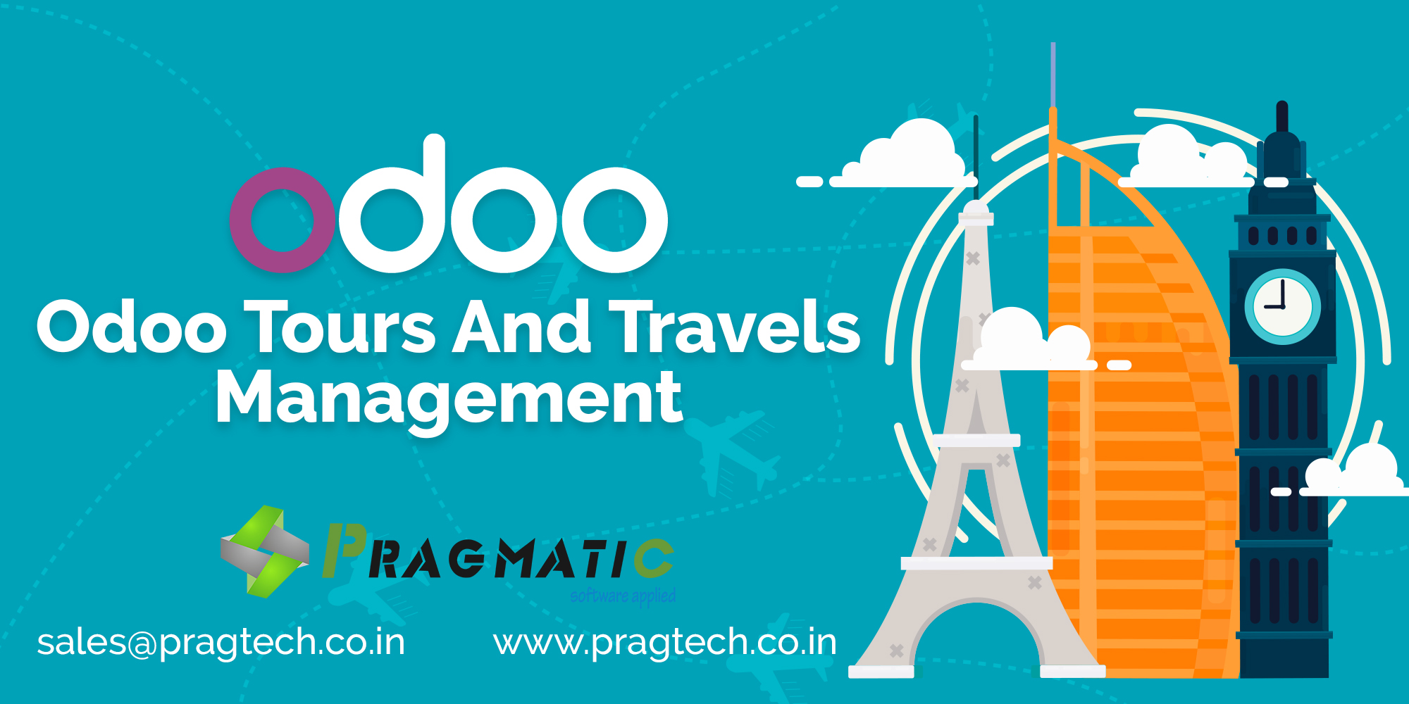 Odoo Tour and Travels Management - Pragtech Blogger