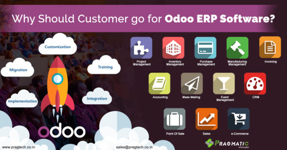 Why Should Customer go for Odoo ERP Software?