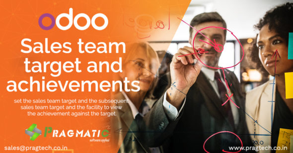 Odoo Sales Team Target and Achievements