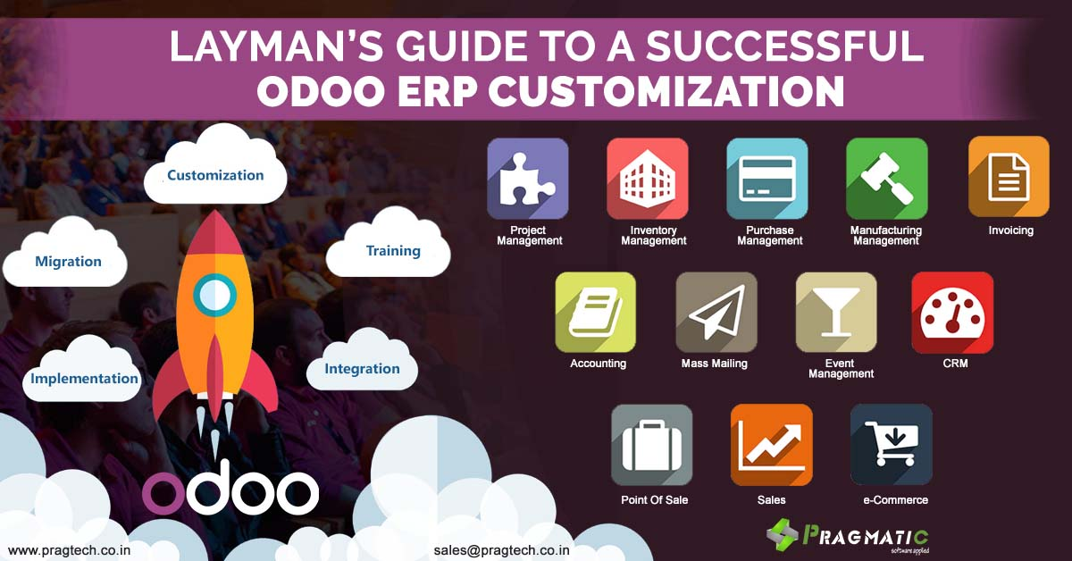 Layman's Guide to a Successful Odoo ERP Customization