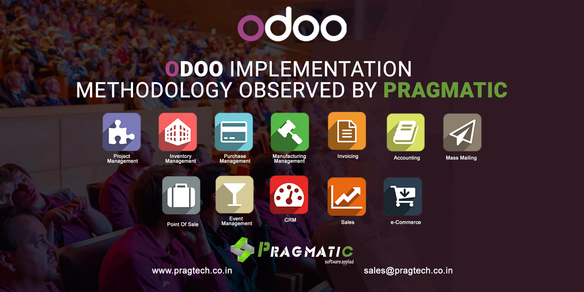 Odoo Implementation Methodology observed by Pragmatic