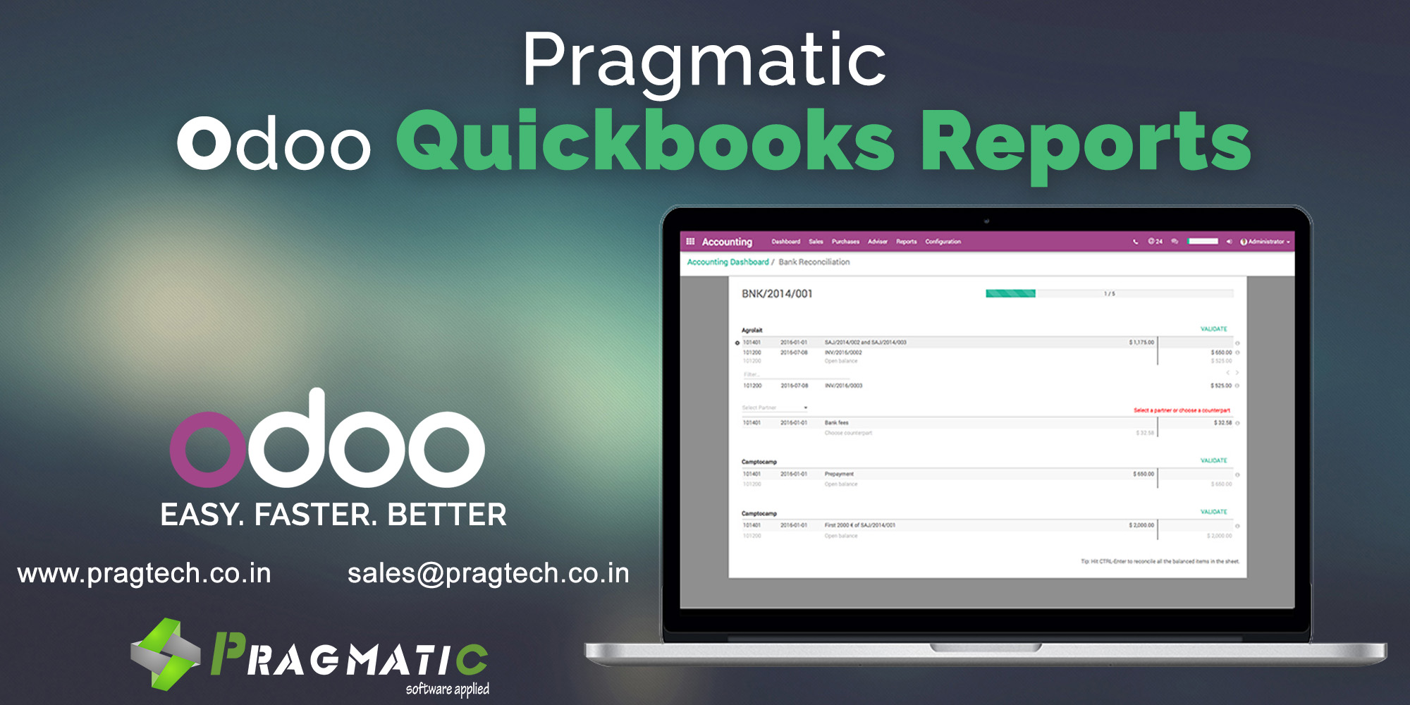 Pragmatic Quickbooks reports
