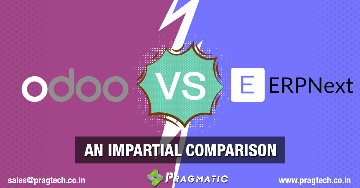 Odoo vs ERPNext – An Impartial Comparison
