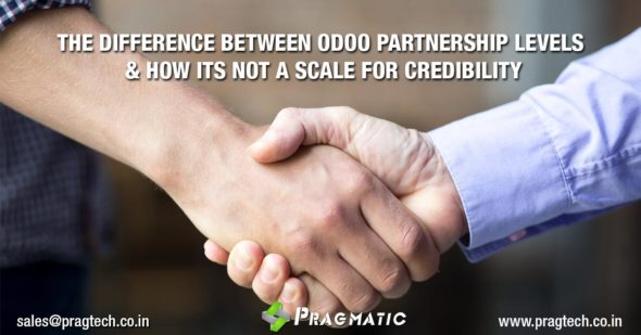 The Difference between Odoo Partnership Levels & How its not a Scale for Credibility