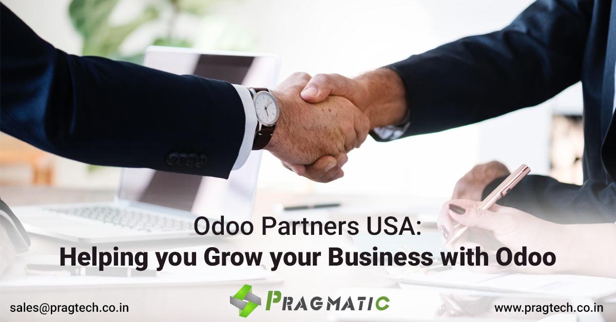 Odoo Partners USA: Helping you Grow your Business with Odoo