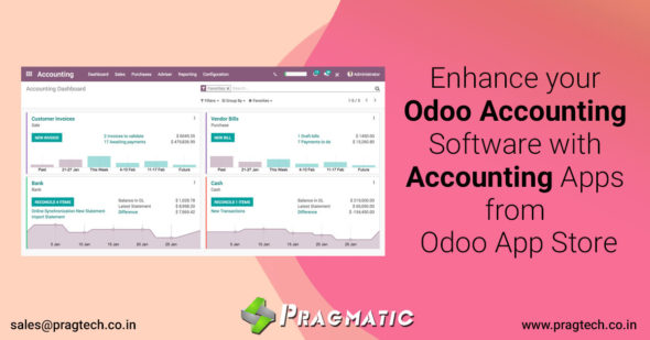Enhance your Odoo Accounting Software with Accounting Apps from Odoo App Store