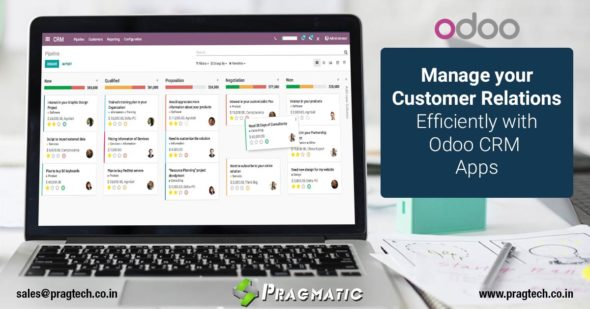 Manage your Customer Relations Efficiently with Odoo CRM Apps