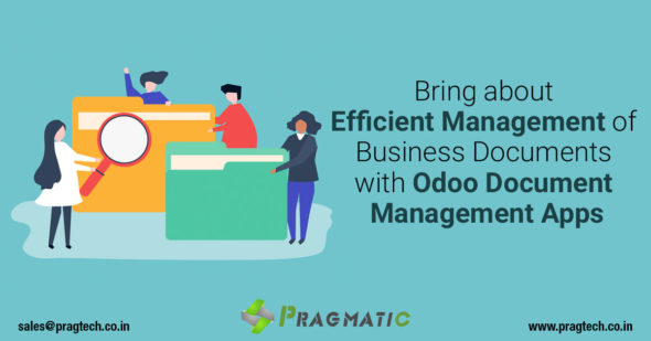 Bring about Efficient Management of Business Documents with Odoo Document Management Apps