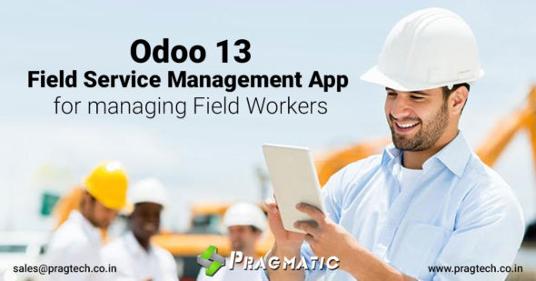 Odoo 13: Field Service Management App for managing Field Workers