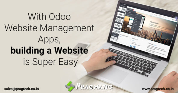 With Odoo Website Management Apps, building a Website is Super Easy
