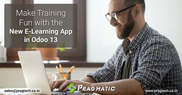Make Training Fun with the New E-Learning App in Odoo 13