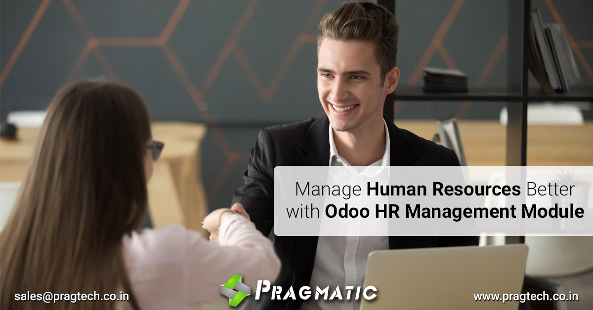 Manage Human Resources Better with Odoo HR Management Module