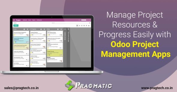 Manage Project Resources & Progress Easily with Odoo Project Management Apps