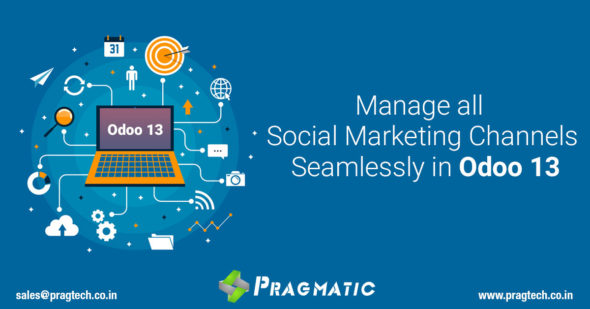 Manage all Social Marketing Channels Seamlessly in Odoo 13