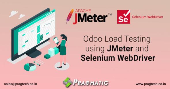 Odoo Load Testing using JMeter and Selenium WebDriver