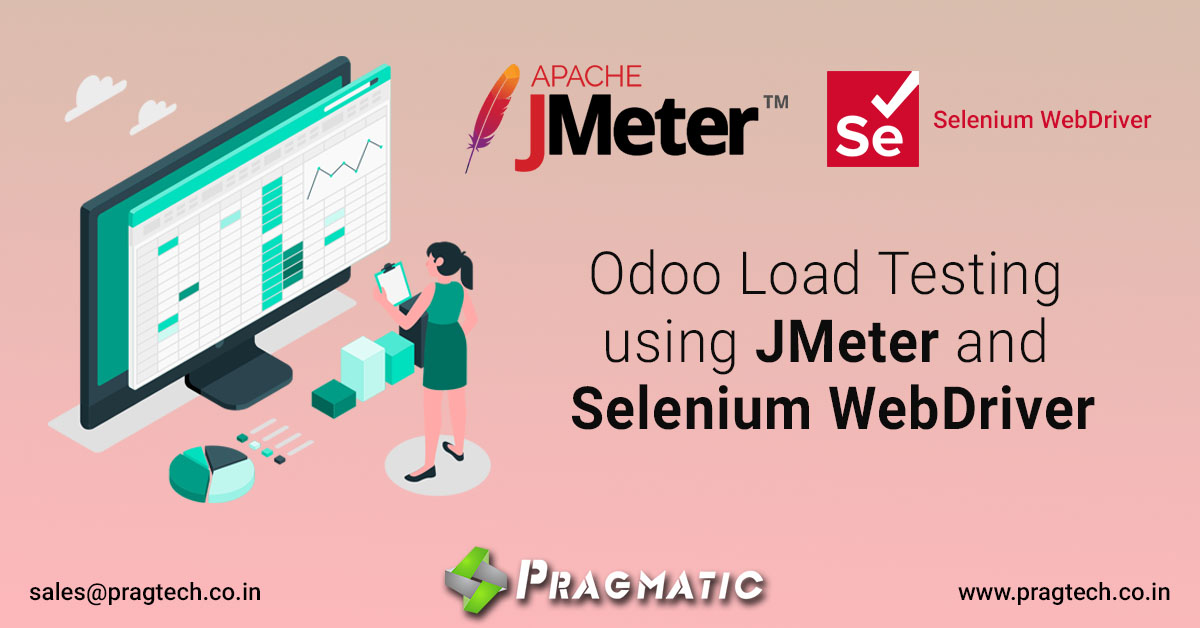 Odoo Load Testing using JMeter and Selenium WebDriver
