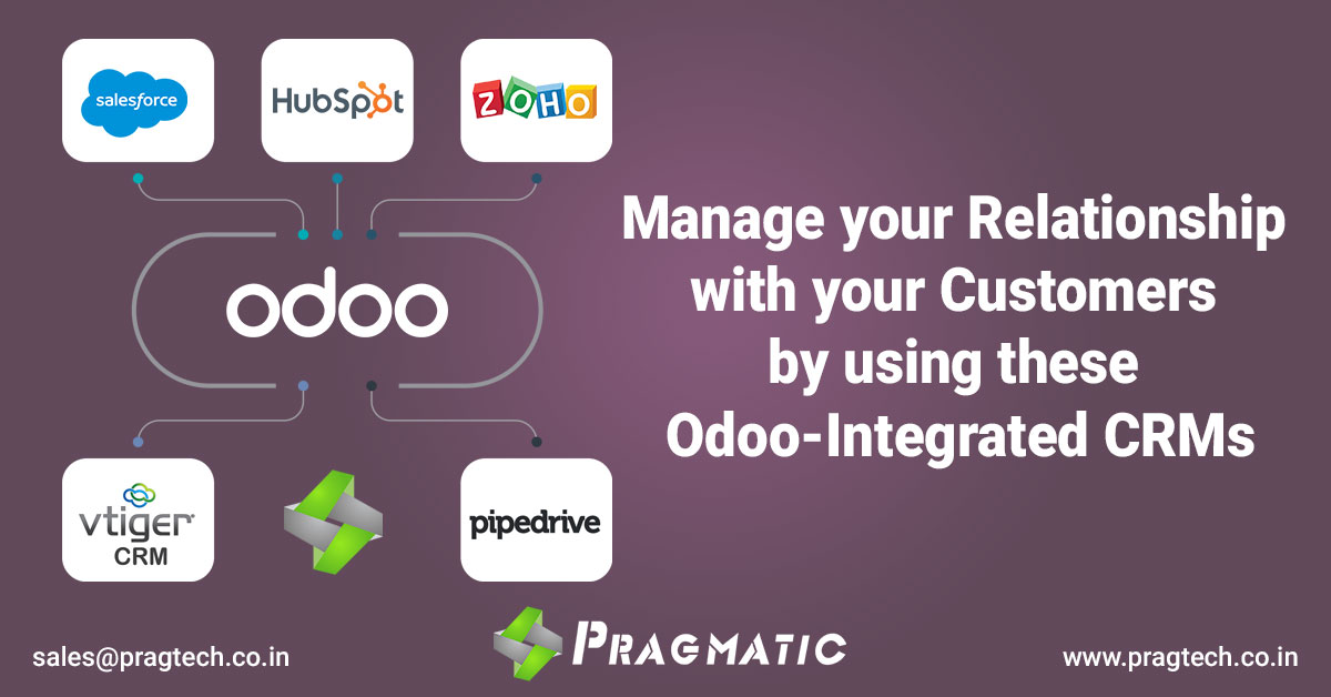Manage your Relationship with your Customers by using these Odoo-integrated CRMs