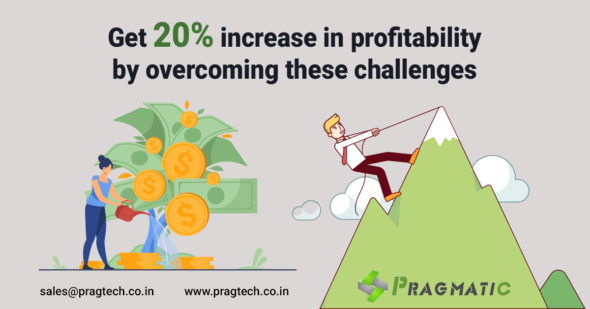Get 20% increase in profitability by overcoming these challenges