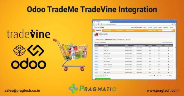 Odoo TradeMe TradeVine Integration