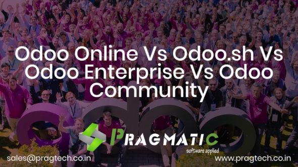 Odoo Online Vs Odoo.sh Vs Odoo Enterprise Vs Odoo Community